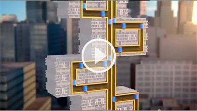 آسانسورهای بدون کابل با نام Multi